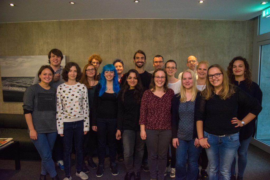 Gruppenbild Campusradio Karlsruhe